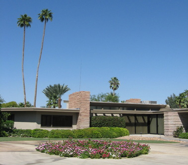 Mid century modern homes palm springs